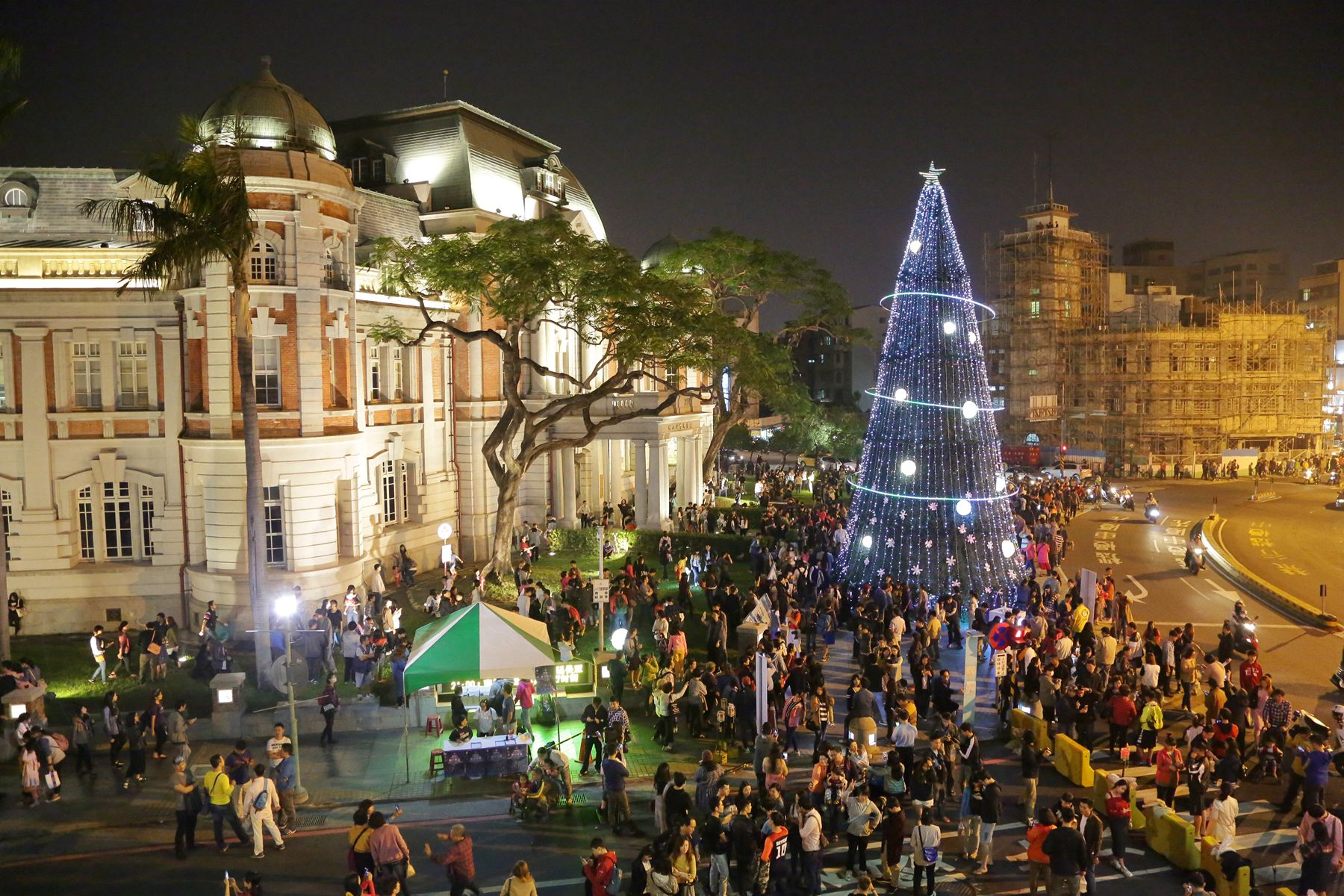 耶誕跨年到台南   給你滿滿歡樂大平台!