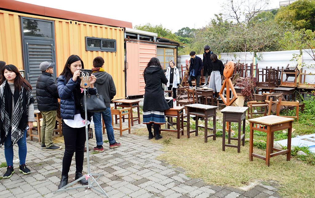 沙鹿小旅行:粉彩馬卡龍貨櫃村「好好聚落」