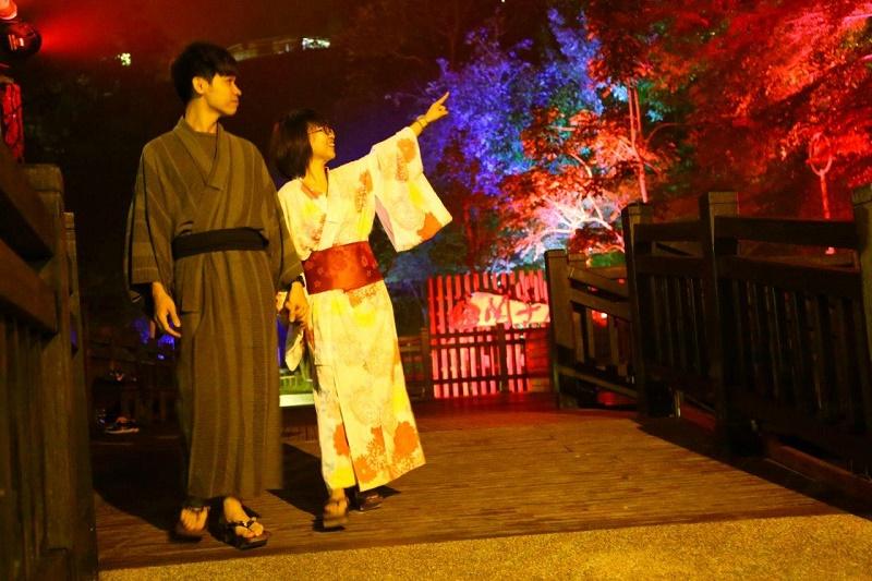 會跳舞的森林 ─ 關子嶺寶泉橋的浪漫時光