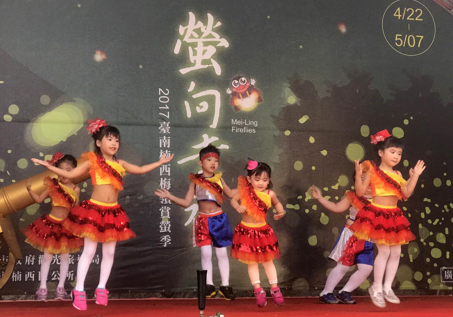 台南楠西區梅嶺賞螢活動熱烈展開