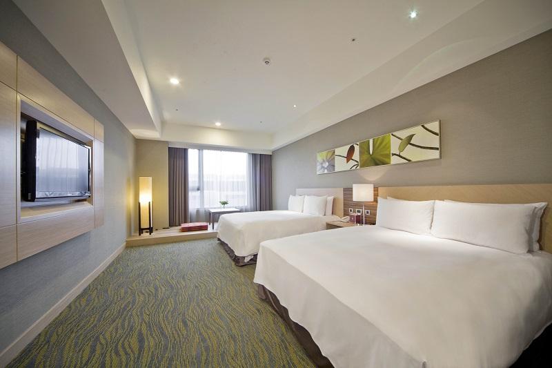 02煙波大飯店的客房簡潔舒適
