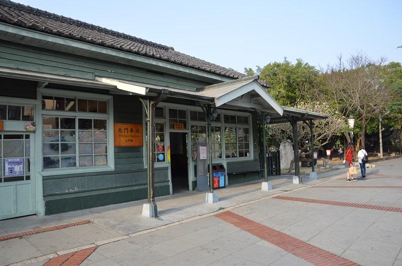 北門驛代表著日據時期阿里山林業的記憶