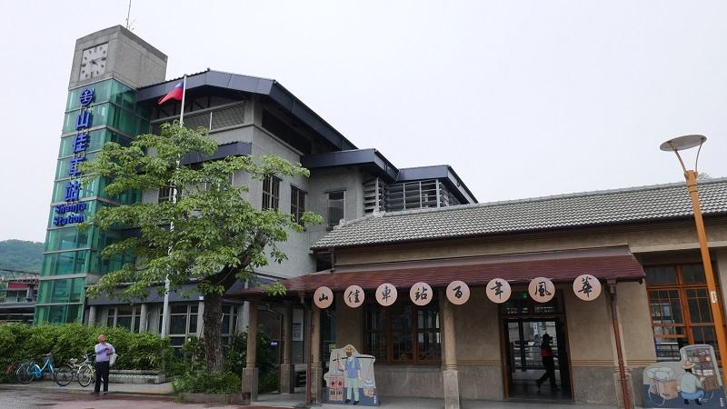 05-山佳車站已有百年歷史