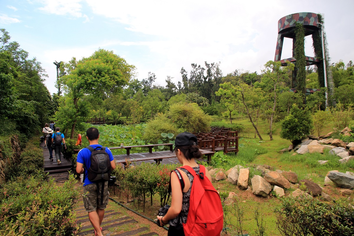 01.植物園-溼地生態與水生植物展示區