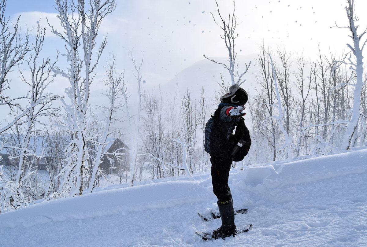 雪地健行 探冰瀑秘境