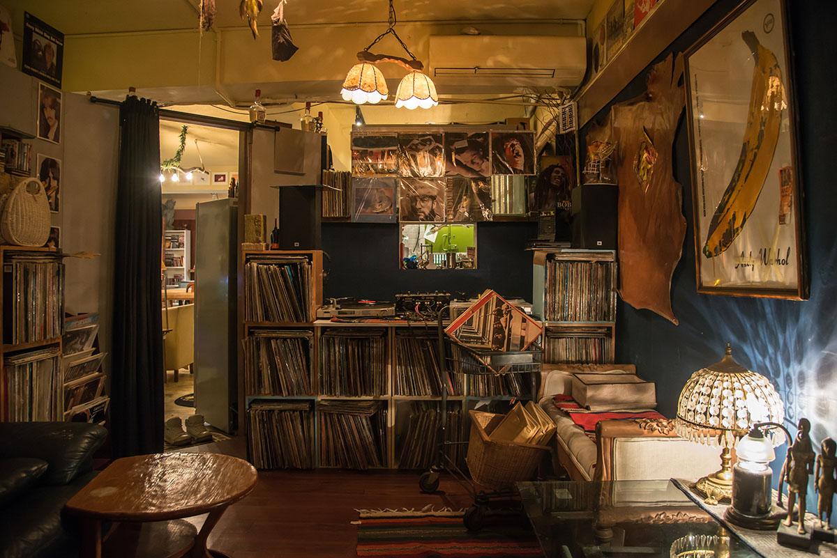 311,旅行一週間,Basement Cafe,黑膠唱片,蜥蜴,烏龜,台北,大安區