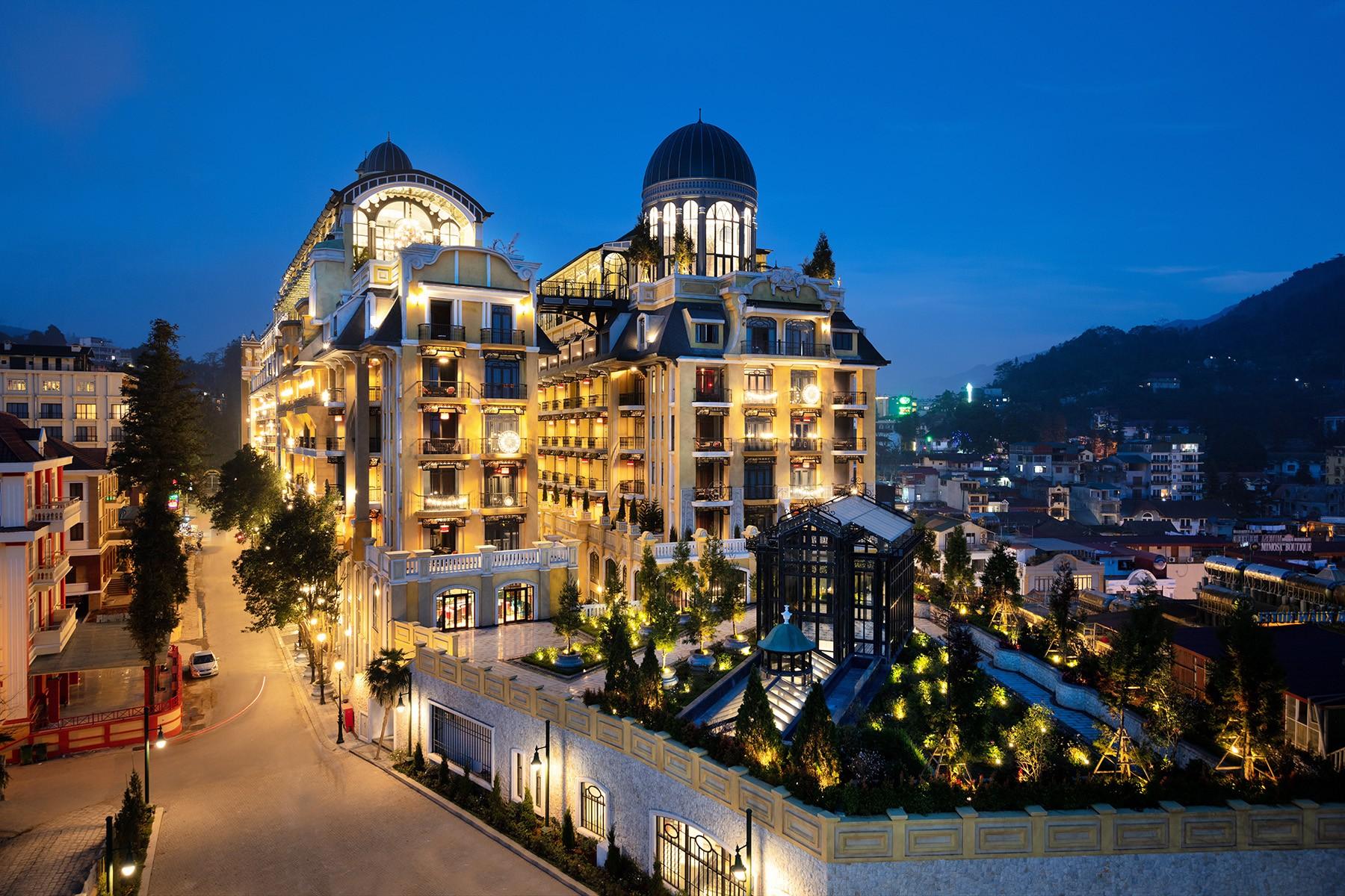 到越南入住皇宮,享受山與海的法式風情旅遊
