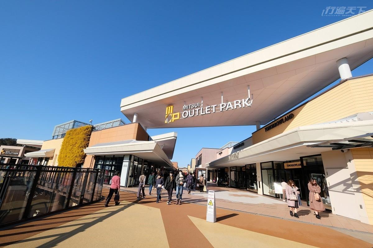 ▲佔地廣大的購物樂園,每個季節來都可以買到超熱愛的商品。