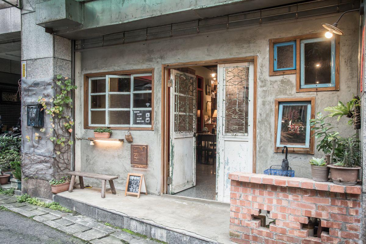 新北,淡水,神秘咖啡館,復古空間