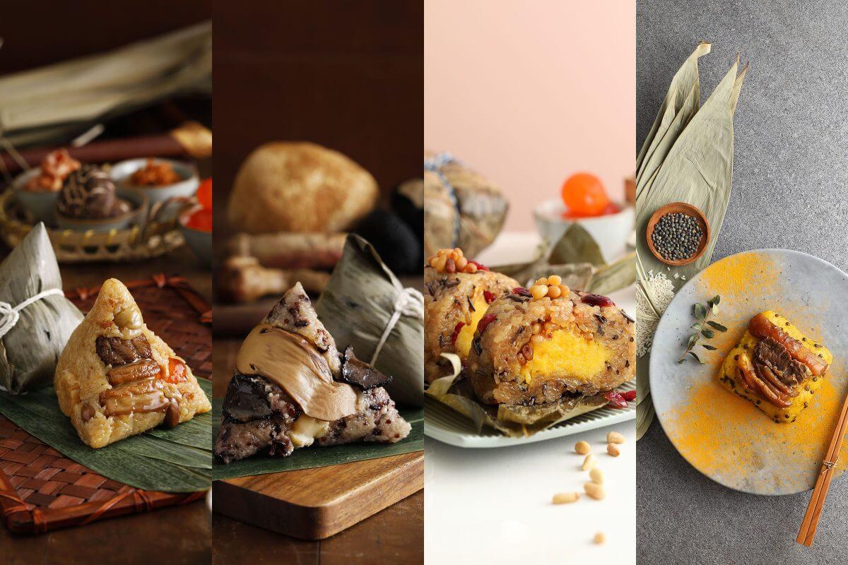 端午節,肉粽,粽子,松茸,松露,素粽,北部粽