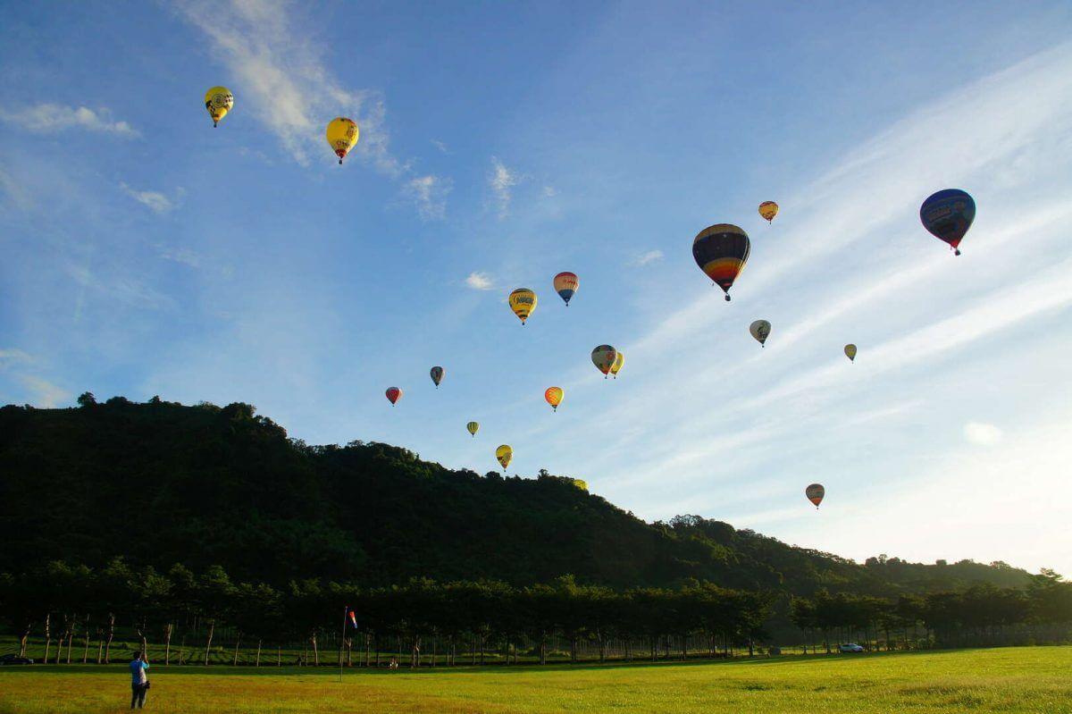 熱氣球,台東,嘉年華
