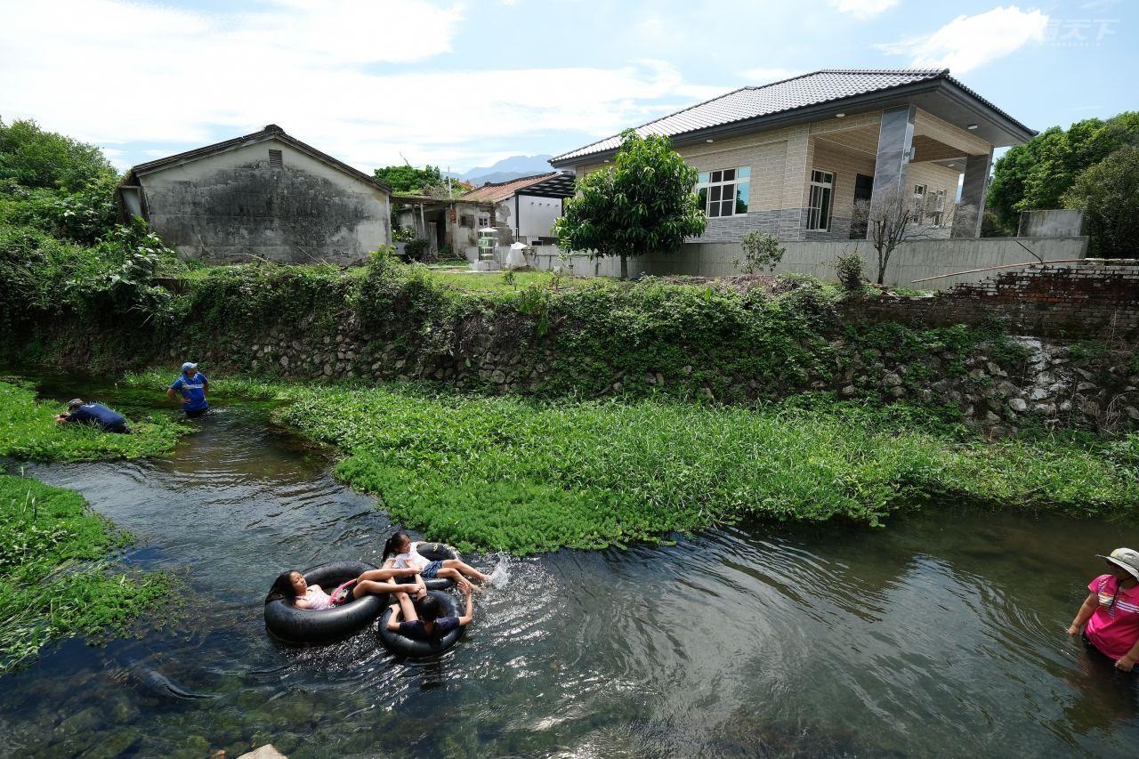 屏東,萬巒,漂漂河,大武山,湧泉