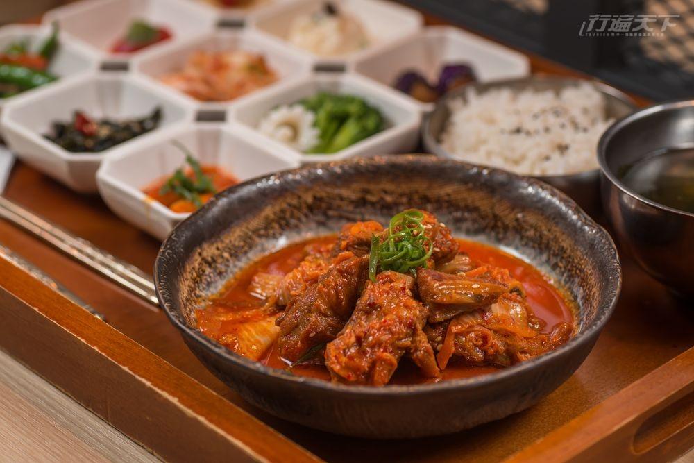 台北,單身友善,韓式料理,九宮格小菜,偷飯賊