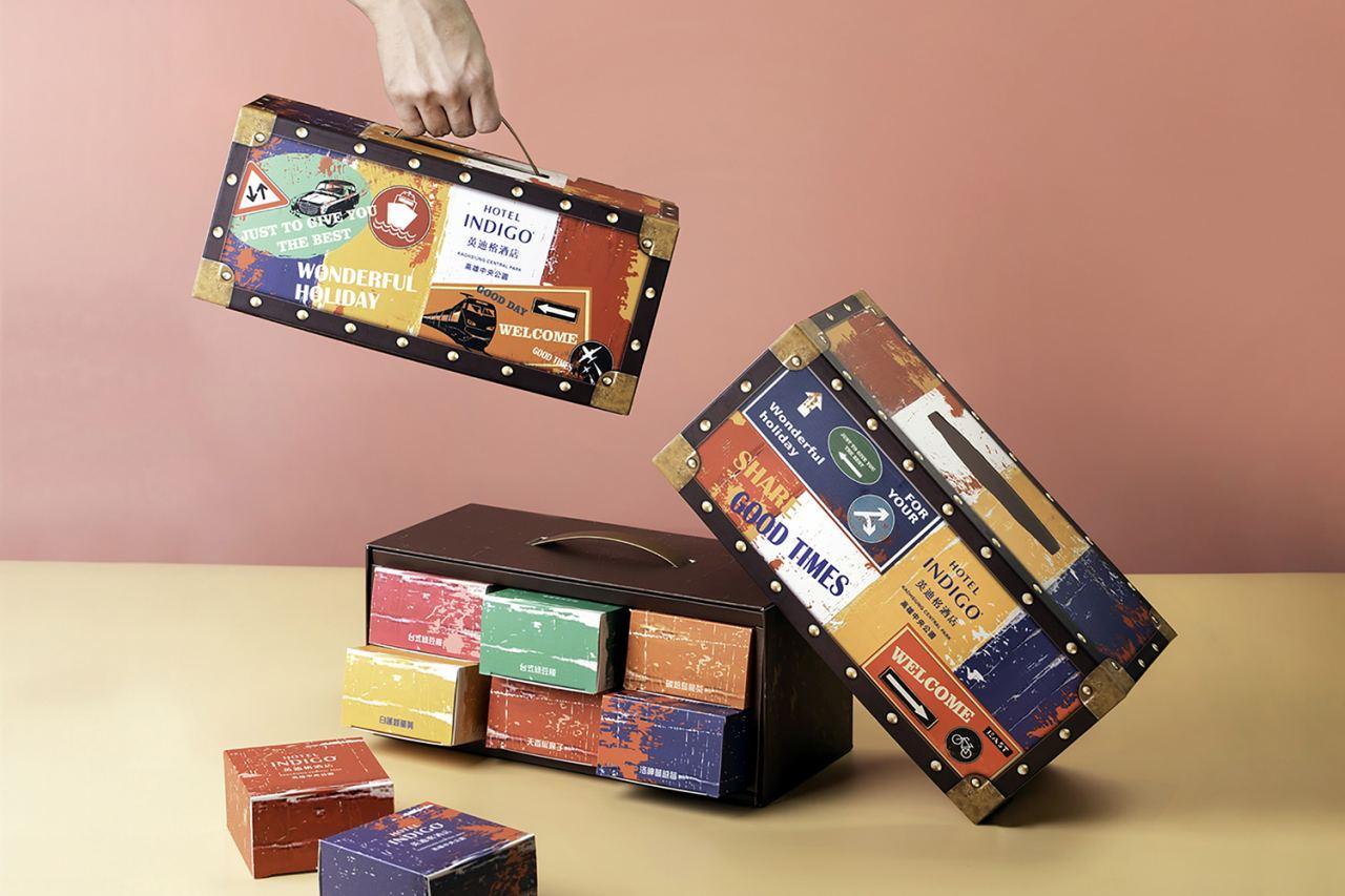 月餅,禮盒,英迪格,小行李箱