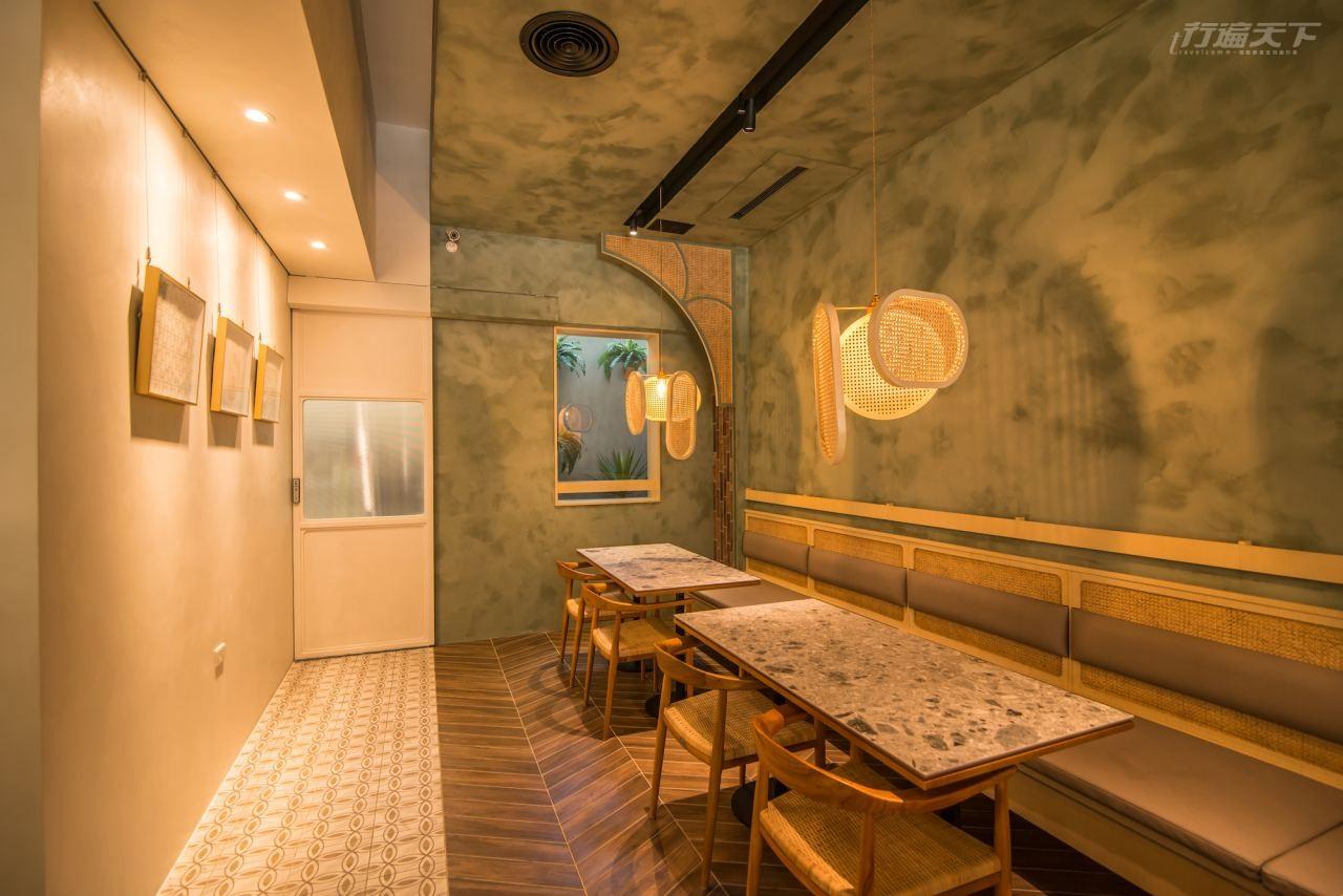 ▲六千金以熱愛咖啡和甜點魂的心營造一室優雅風格。
