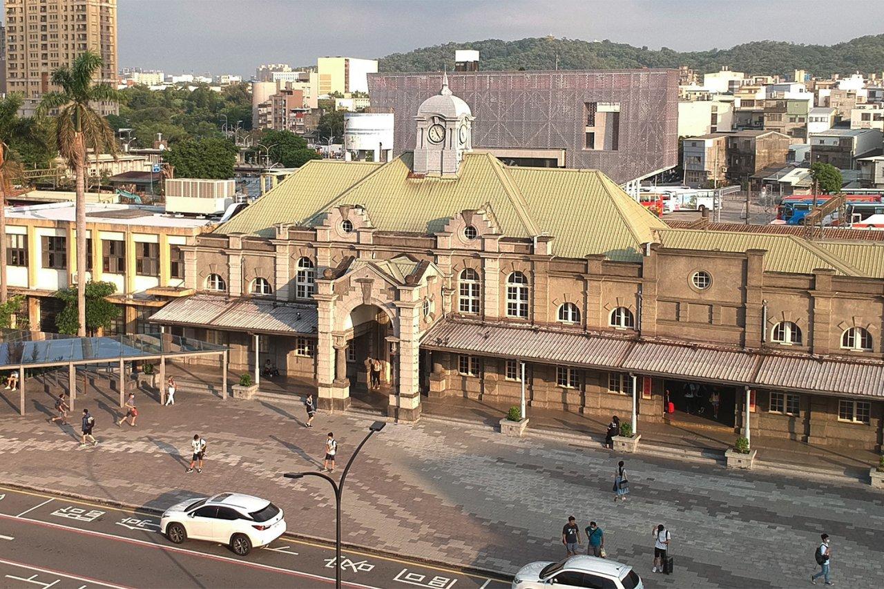 新竹,新竹州,舊城區,散步,護城河,新竹火車站,百年,東門市場