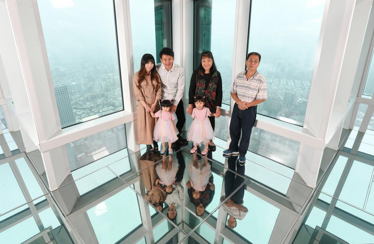 台北101,觀景台,Skyline天際線460,故事館,風阻尼球