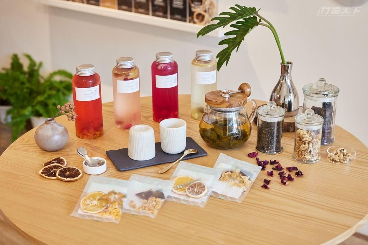台北,小草作,花草茶,台灣食材,果乾水