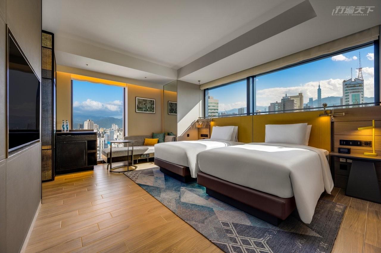 台北,時代寓所,希爾頓,飯店,新開幕