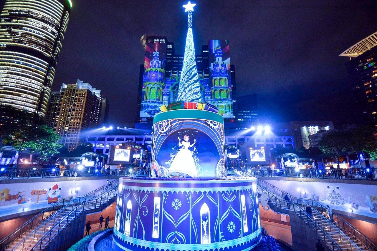 新北耶誕城,新北歡樂耶誕城,板橋,迪士尼,公主,光雕,迪士尼經典童話亂打秀,兒童劇團,親子