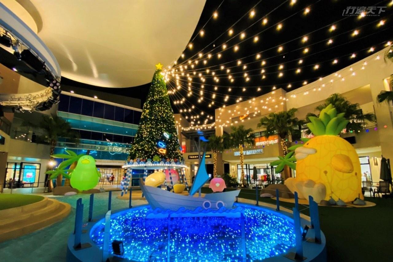 MITSUI OUTLET PARK,林口,三井,聖誕節,南方島嶼,南半球,奇異耶誕,熱帶氣候