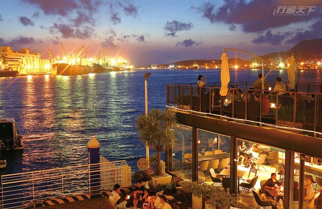 高雄,港都,夜生活,鯊加碼頭,鐵牛酒號,居酒屋美食,夜景