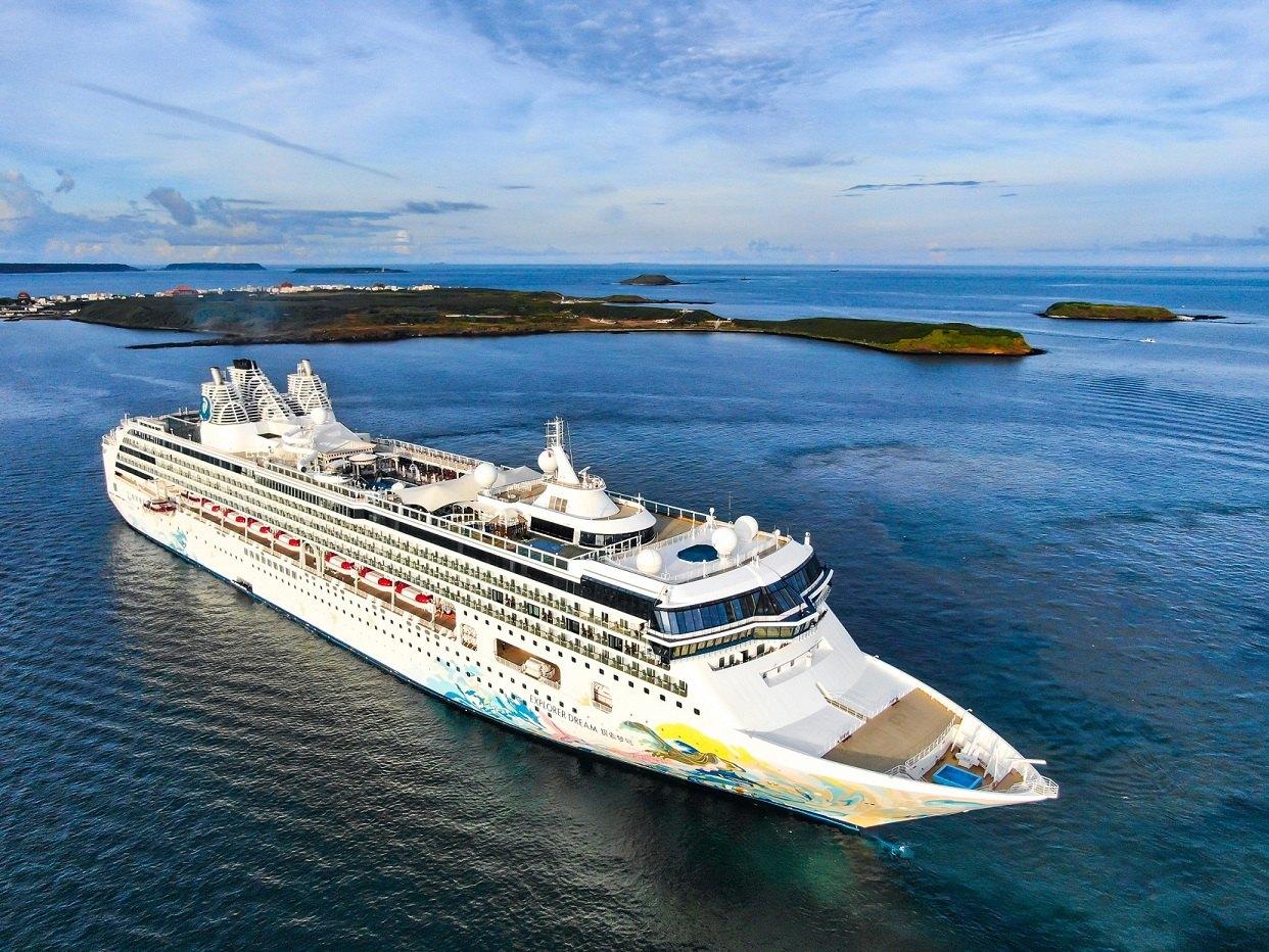 ▲搭乘「探索夢號」從基隆港出發,多航線點可選擇,途經澎湖賞璀璨花火。