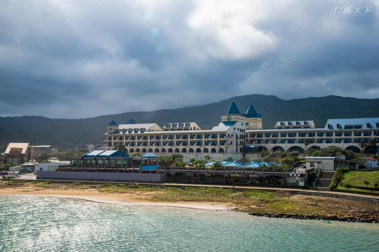 ▲濱海飯店房間內也能擁有無敵海景。