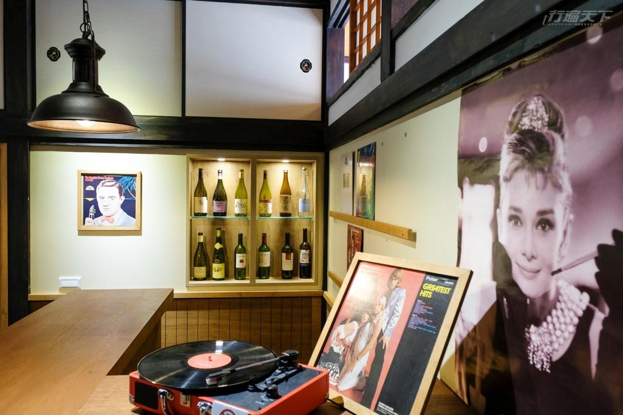 ▲園區內也將台灣美援時期的酒吧文化完整還原。