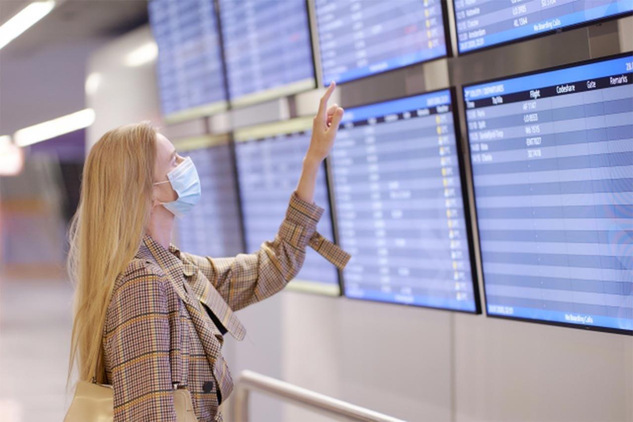 疫苗團,美國,機場