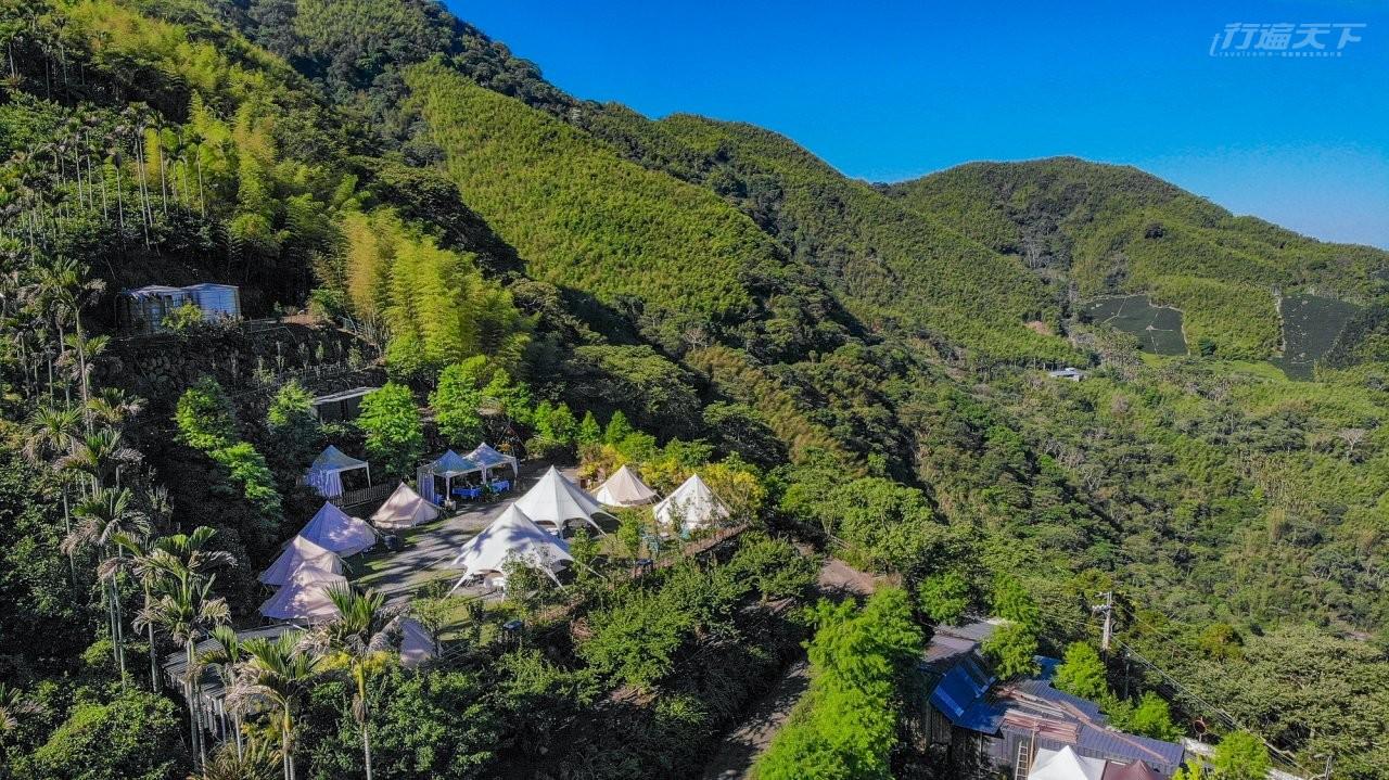 台中旅遊 在海拔1000公尺的原始山林露營享用在地食材 戶外體驗當地職人教你手作