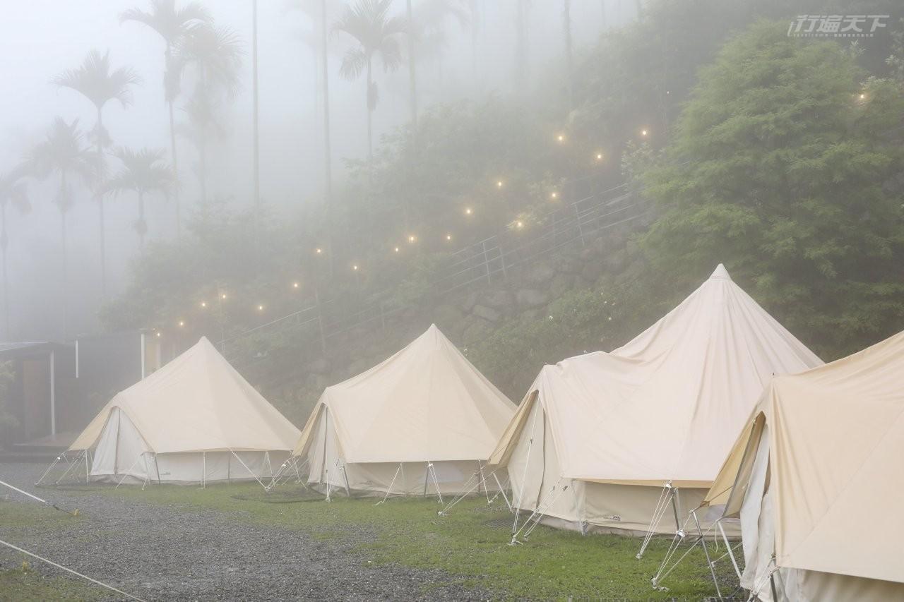 ▲或雨或晴,都是最好的一期一會露營風景。