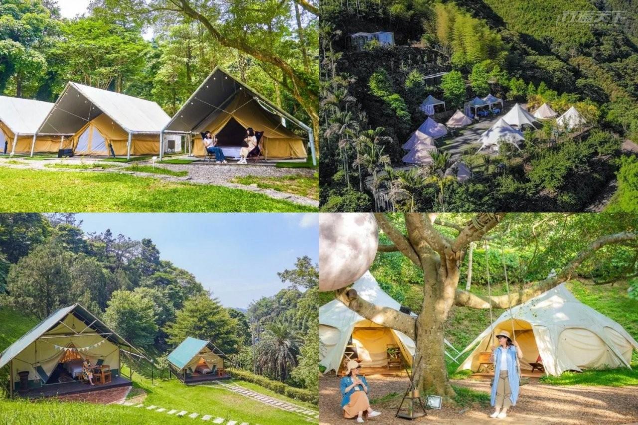 夏日露營|誰說露營都要很克難?全台10間野奢露營讓你以為在住飯店