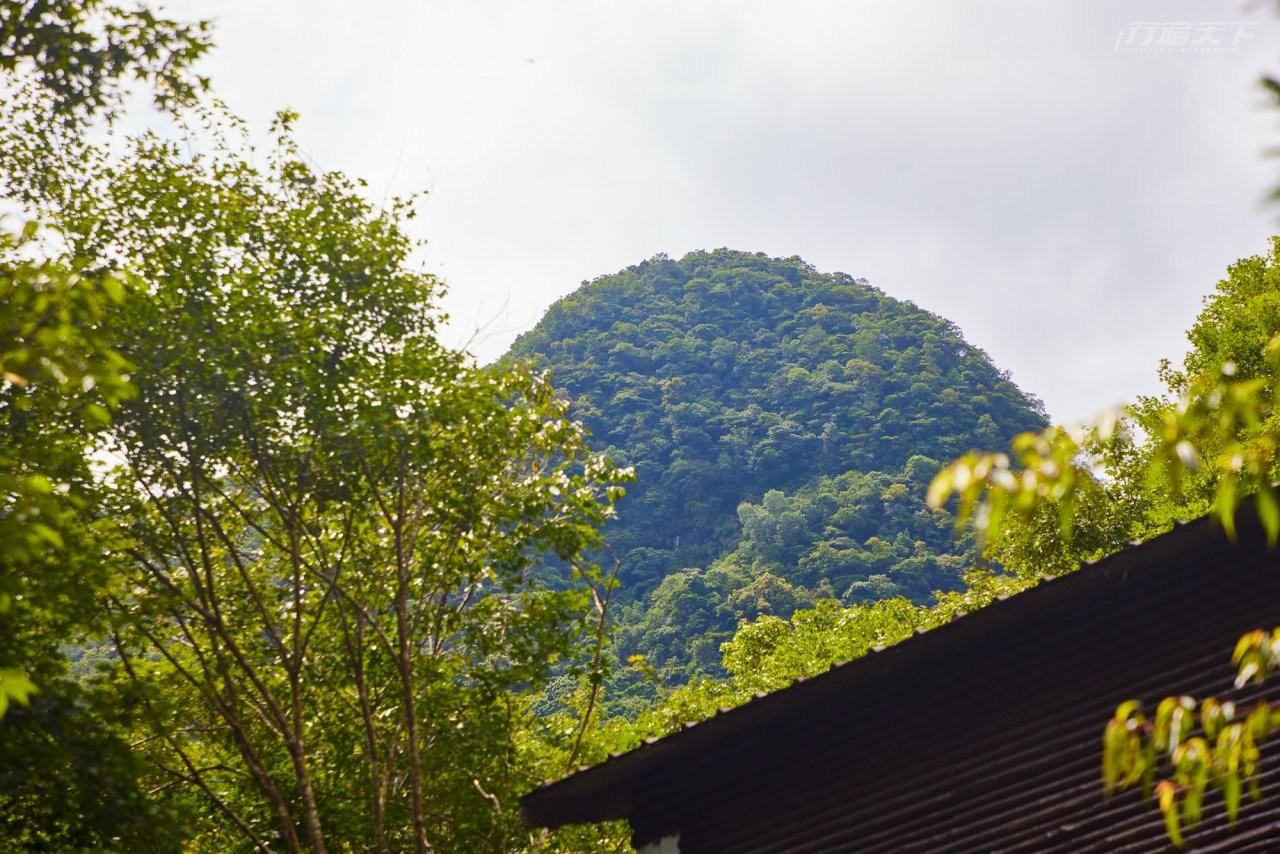 ▲滿月圓山因為其圓圓可愛山頭因而得名。