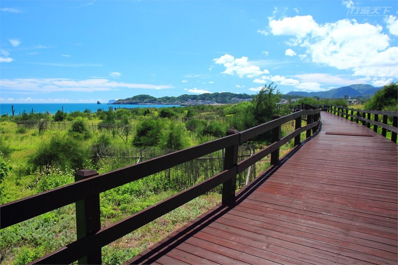 綠色旅遊 廢棄木棧道也能很潮  北觀處翻轉廢料實踐永續