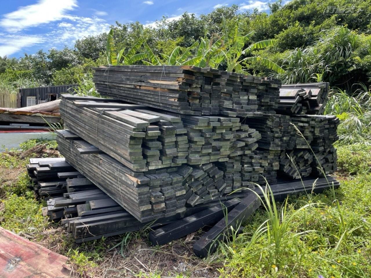 ▲卸除之木棧板也能賦予新生。(圖片提供:北觀處)